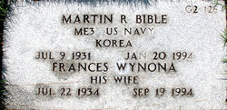 Martin R Bible