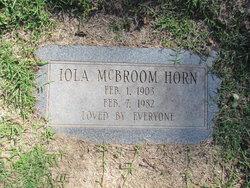 Iola Norene <I>Bradfield</I> Horn
