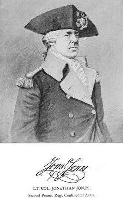 Col Jonathan Jones