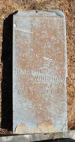 Hester Octavia <I>Cross</I> Worsham