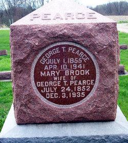 Mary <I>Brook</I> Pearce