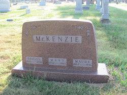Maude A. McKenzie