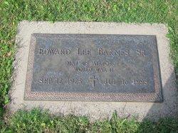 Maj Edward Lee Barnes, Sr