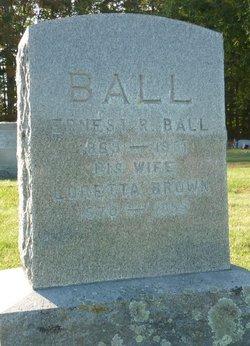 Ernest Russell Ball