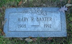 Mary Jane <I>Ragsdale</I> Baxter