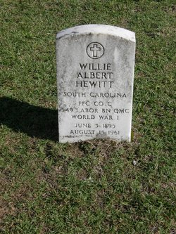 Willie Albert Hewitt