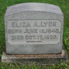 Eliza A. Lyon