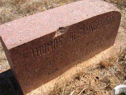 Thomas Alexander, Sr
