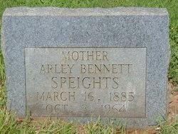Arley Emmaline <I>Bennett</I> Speights