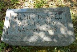 Willie D Abel