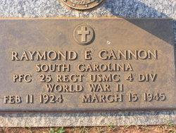 Raymond E Cannon