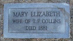 Mary Elizabeth <I>Collins</I> Collins
