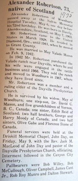 "0857e1dec691 Alexander ""Alex"" Robertson (1903-1975) - Find A Grave Memorial"