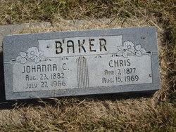 Johanna Cornellia <I>Kommers</I> Baker