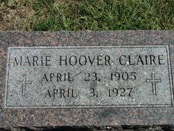 Marie Margarita <I>Hoover</I> Claire