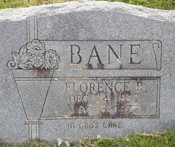Florence J Carter <I>Robertson</I> Bane