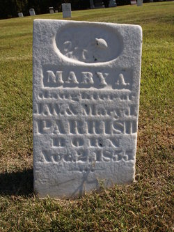 Mary A Parrish