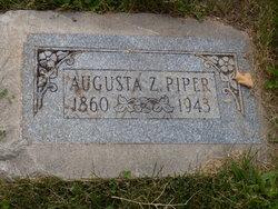 Augusta <I>Zellmer</I> Piper