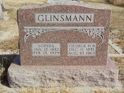 George Henry B Glinsmann