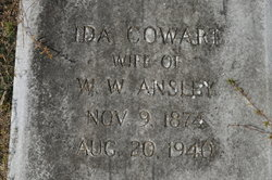 Ida G. <I>Cowart</I> Ansley
