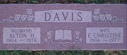 Alton Parker Hill Davis