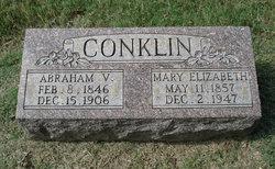 Mary Elizabeth <I>Butler</I> Conklin