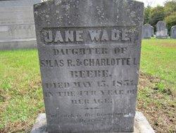 Jane Wade Beebe
