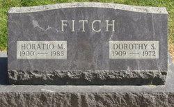 Dorothy S <I>Schenck</I> Fitch