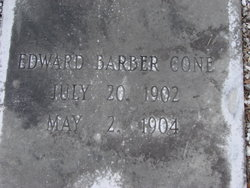 Edward Barber Cone
