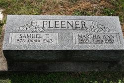 Martha Ann <I>Fritch</I> Fleener