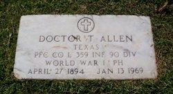 PVT Doctor Trague Allen
