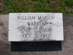 William Marion Warren