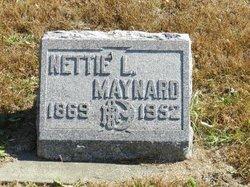 Nettie Lucinda <I>Munger</I> Maynard