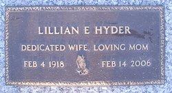Lillian E Hyder
