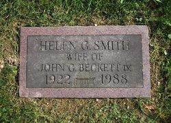 Helen G. <I>Smith</I> Beckett