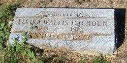Elvira <I>Wallis</I> Calhoun