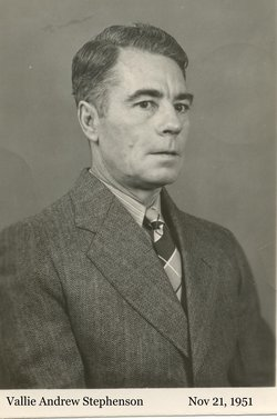 Vallie Andrew Stephenson