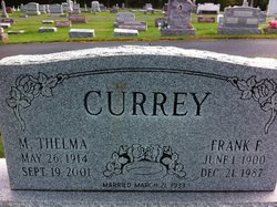 Margaret Thelma <I>Lovett</I> Currey