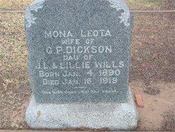 Mona Leota <I>Wills</I> Dickson