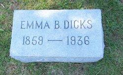 Emma B. <I>Freeman</I> Dicks