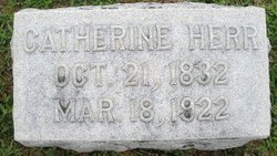 Catherine <I>Hocker</I> Herr