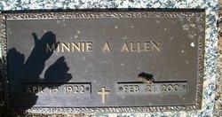 Minnie A. Allen