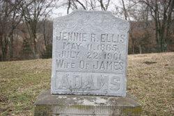 """Virginia Rae """"Jennie"""" <I>Ellis</I> Adams"""