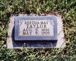 Bertha May <I>Taylor</I> Anderson