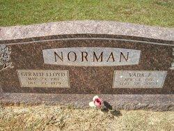 Vada <I>Pilgreen</I> Norman