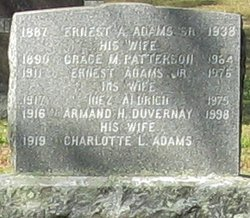 Grace M <I>Patterson</I> Adams