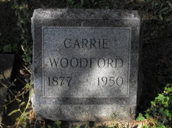 Carrie Rosezella <I>Phillips</I> Woodford