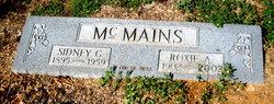 Roxie Ann <I>Murray</I> McMains