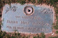 Elijah Hall Allgood
