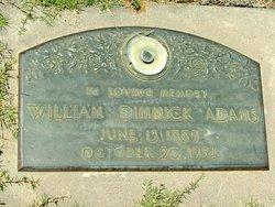 William Dimmick Adams